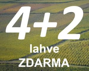 Moravské 4+2 zdarma