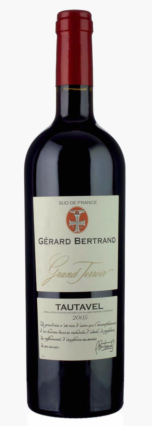 "Gerard Bertrand - Cotes du Rousillon Villages ""Tautavel"" 2007"