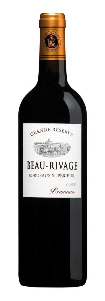 Bordeaux rouge - Beau-rivage Premium Grande reserve  2013