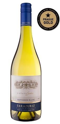 Sauvignon Estate series Errazuriz zlatá Medaile Prague Wine Trophy