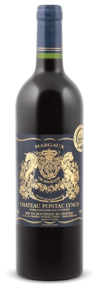 Margaux - Pontac Lynch 2012 cru bourgeois