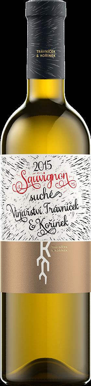 Trávníček & Kořínek - Sauvignon pozdní sběr 2015