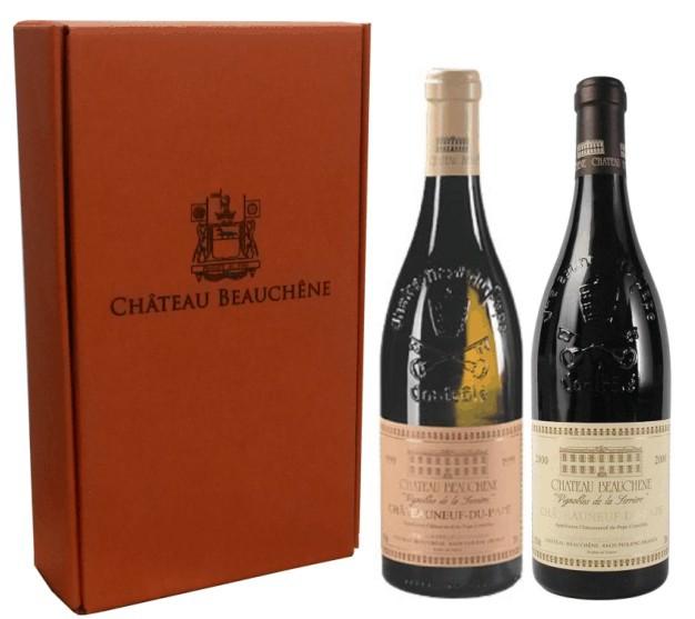 Sada 2 vín - Chateauneuf-du-Pape