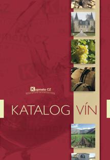 Nový katalog vín Kupmeto CZ