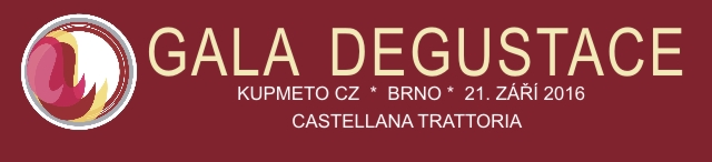 Gala Degustace 2016 Brno