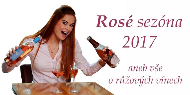 Růžová vína 2017