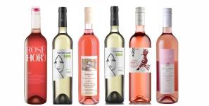 Růžová vína z Moravy