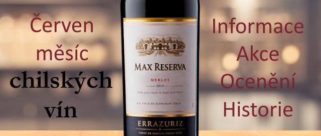 Chilská vína - měsíc chilských vín