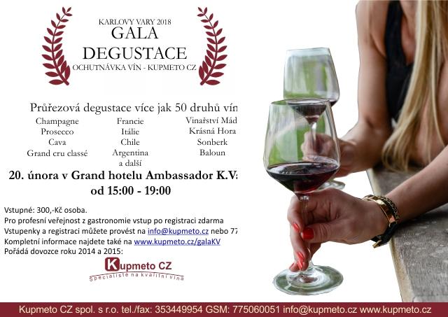 Gala degustace Karlovy Vary