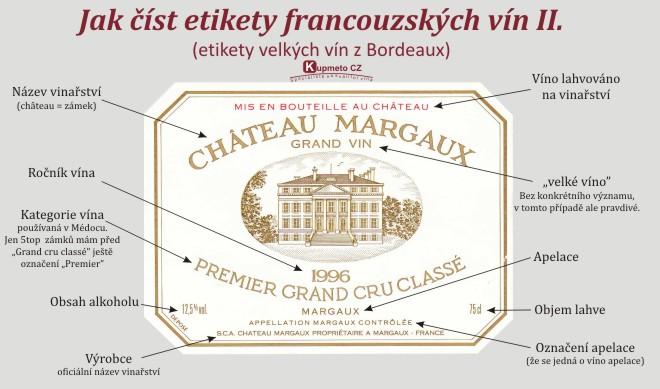 Etiketa Bordeaux