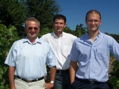 Alain Jaume a jeho synové