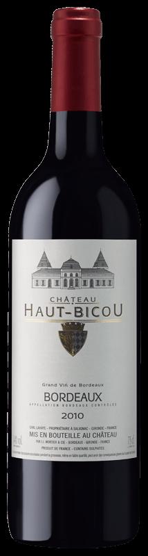 Château Haut Bicou 2015- Bordeaux rouge