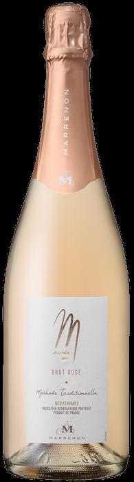 Cuvée M brut rosé Marrenon - sekt z Provence