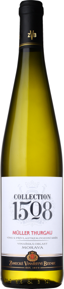 Muller Thurgau Zámecké vinařství Bzenec