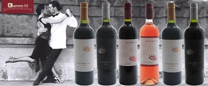 Sada 6 vín - Argentinské tango