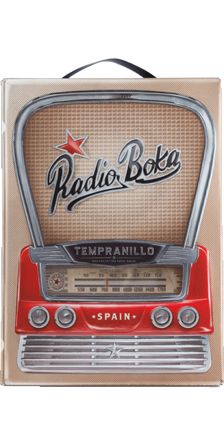 Radio Boca Tempranillo Bag in Box