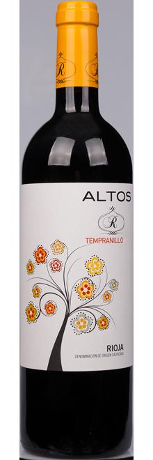 Rioja Tempranillo oak aged - Altos R Laguardia