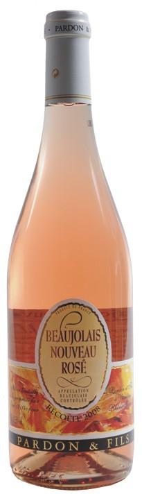 Beaujolais Rosé Nouveau - Pardon 2015