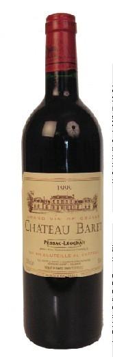 Pessac Leognan - Château Baret rouge 2010