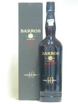 Barros 40 let staré - Portské červené víno