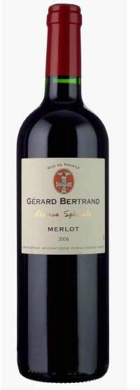 Vertikála Gerard Bertrand - Merlot 2012/14/15