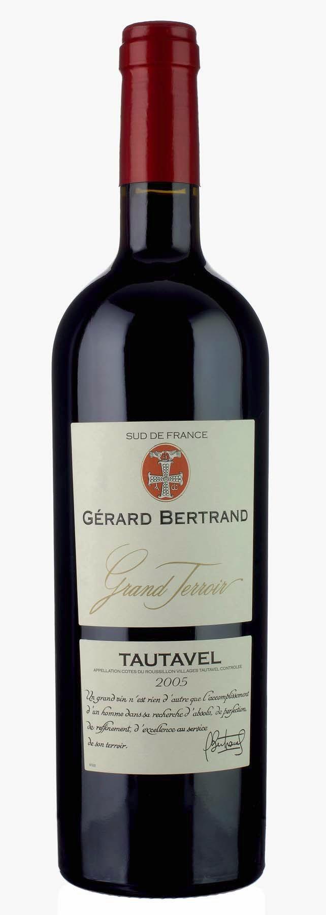 """Gerard Bertrand - Cotes du Rousillon Villages """"Tautavel"""" 2007"""