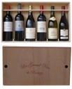 Dřevěná bedýnka na 6 lahví