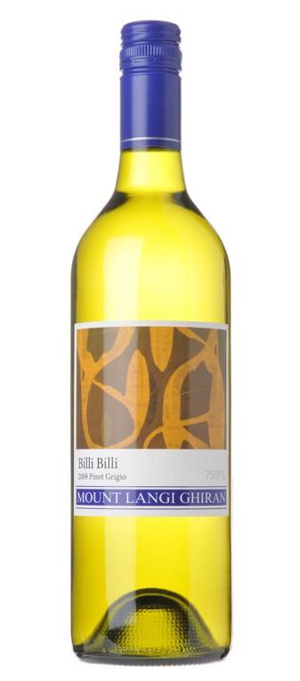 """Mount Langi Ghiran """"Billi Billi"""" - Pinot Grigio 2010"""