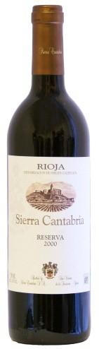 Sierra Cantabria - Rioja Reserva 2011