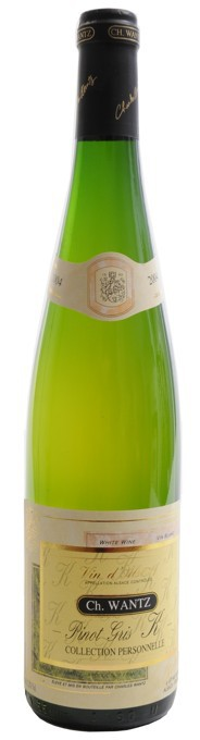 """Ch. Wantz - Pinot gris  """"K""""- collection personelle"""