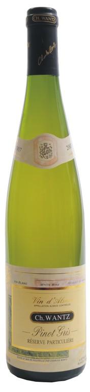 Ch. Wantz - Pinot gris - Réserve particuliere