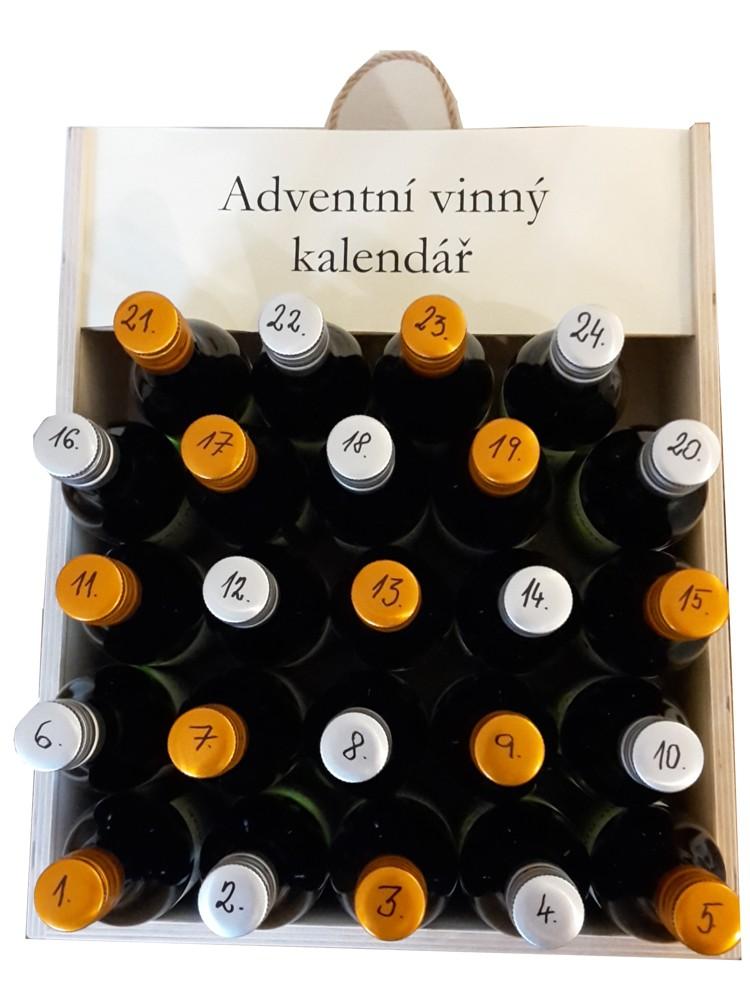 Adventní vinný kalendář