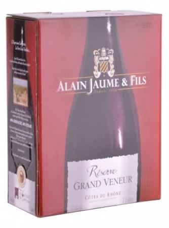 Bag-in-Box 3L Cotes du Rhone rouge Réserve Grand Veneur