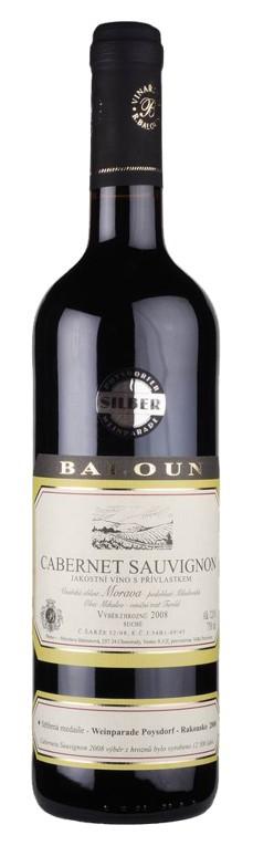 Baloun - Cabernet sauvignon  pozdní sběr