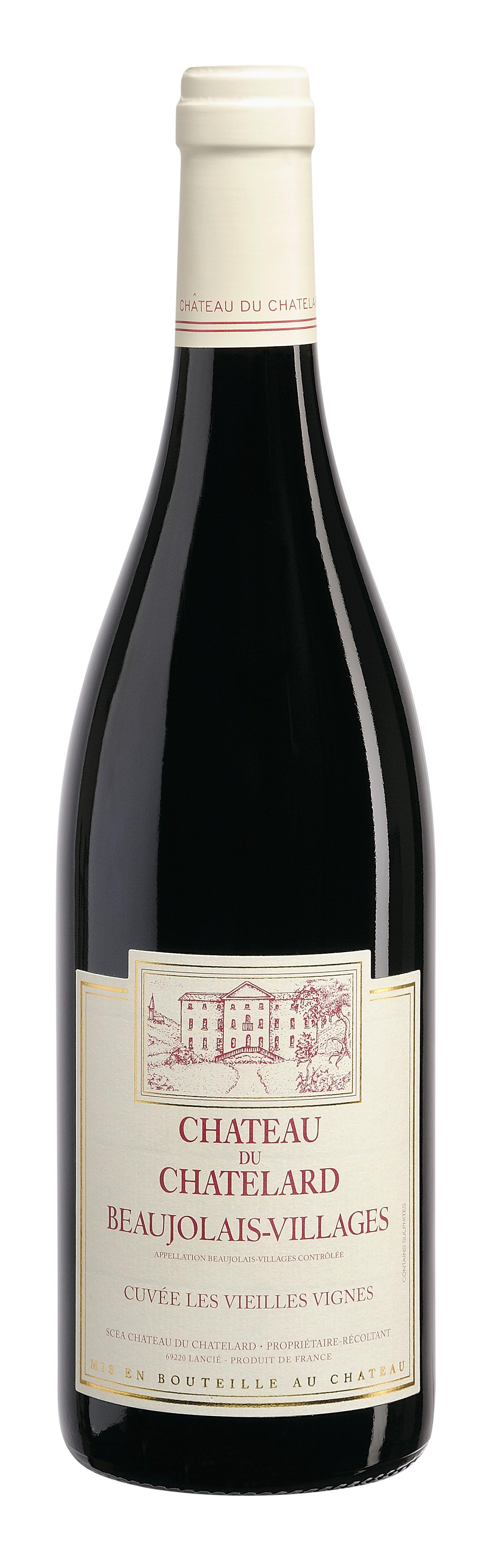 Beaujolais Villages 2013 Château Chatelard staré vinice