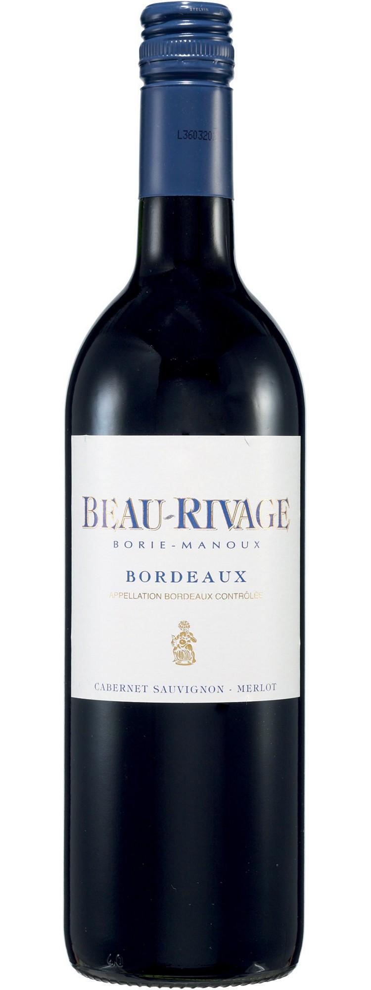 Bordeaux rouge - Beau Rivage