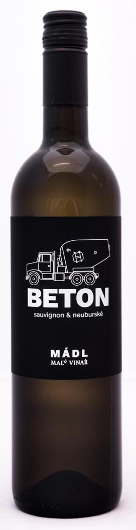 Mádl - cuvée Beton (Sauvignon + Neuburk)