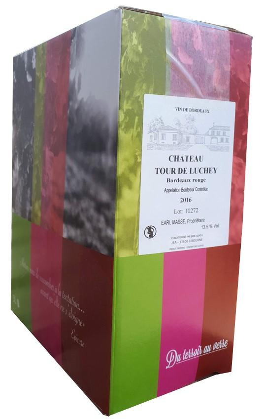 Chateau Tour Luchey Bordeaux 3L Bag in Box