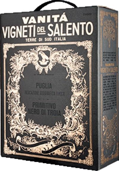Bag in box 3 litry odrůd Primitivo a Nero di Troia