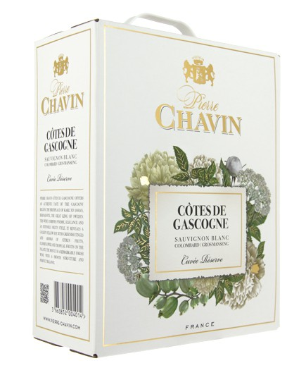 Cotes de Gascogne blanc bag in box 3L Pierre Chavin