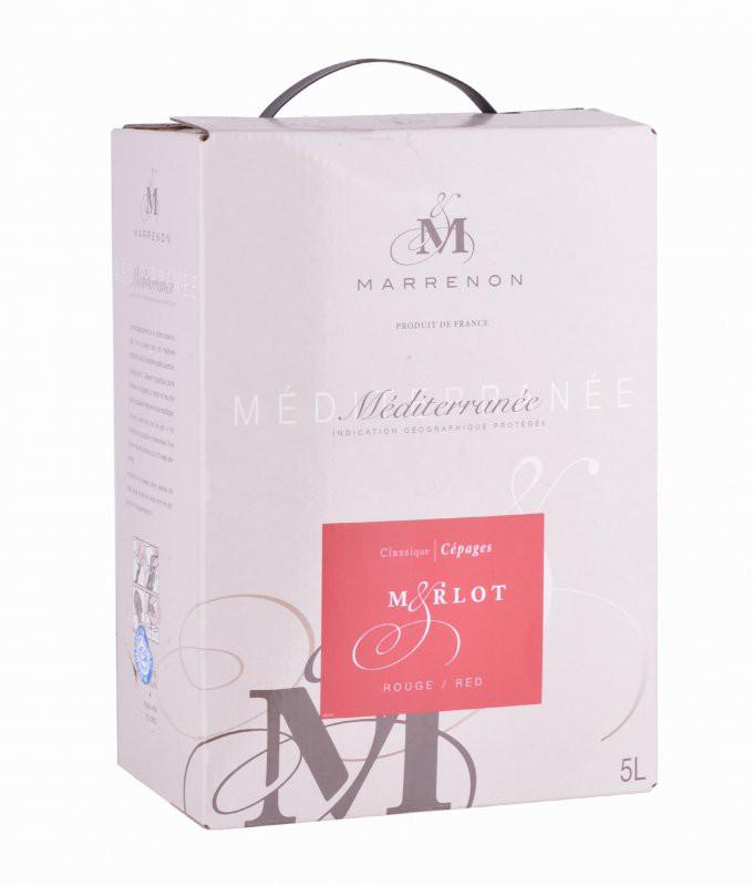 Bag-in-Box 5L Merlot - Marrenon