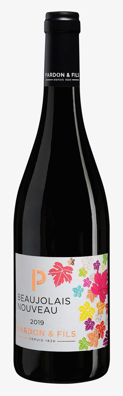 Beaujolais Nouveau Pardon et Fils - mladé francouzské víno