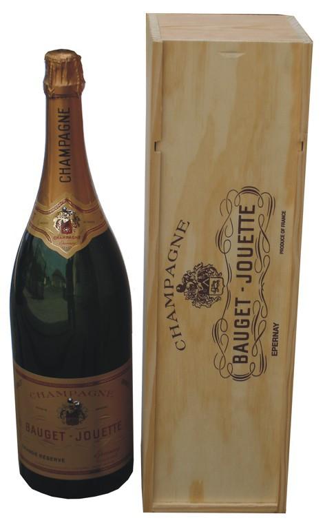 Champagne Bauget-Jouette Grandé reserve Jeroboam 3L