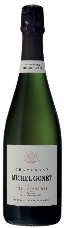 Champagne Gonet Blanc de Blanc - Les 3 Terroirs