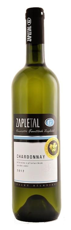 Zapletal - Chardonnay pozdní sběr 2019