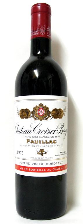Pauillac - Château Croizet Bages 1969 Grand cru classé