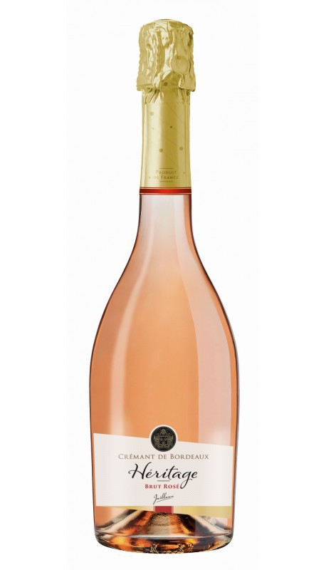 Cremant de Bordeaux rosé Héritage