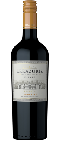 Carmenere Estate series Errazuriz reserva