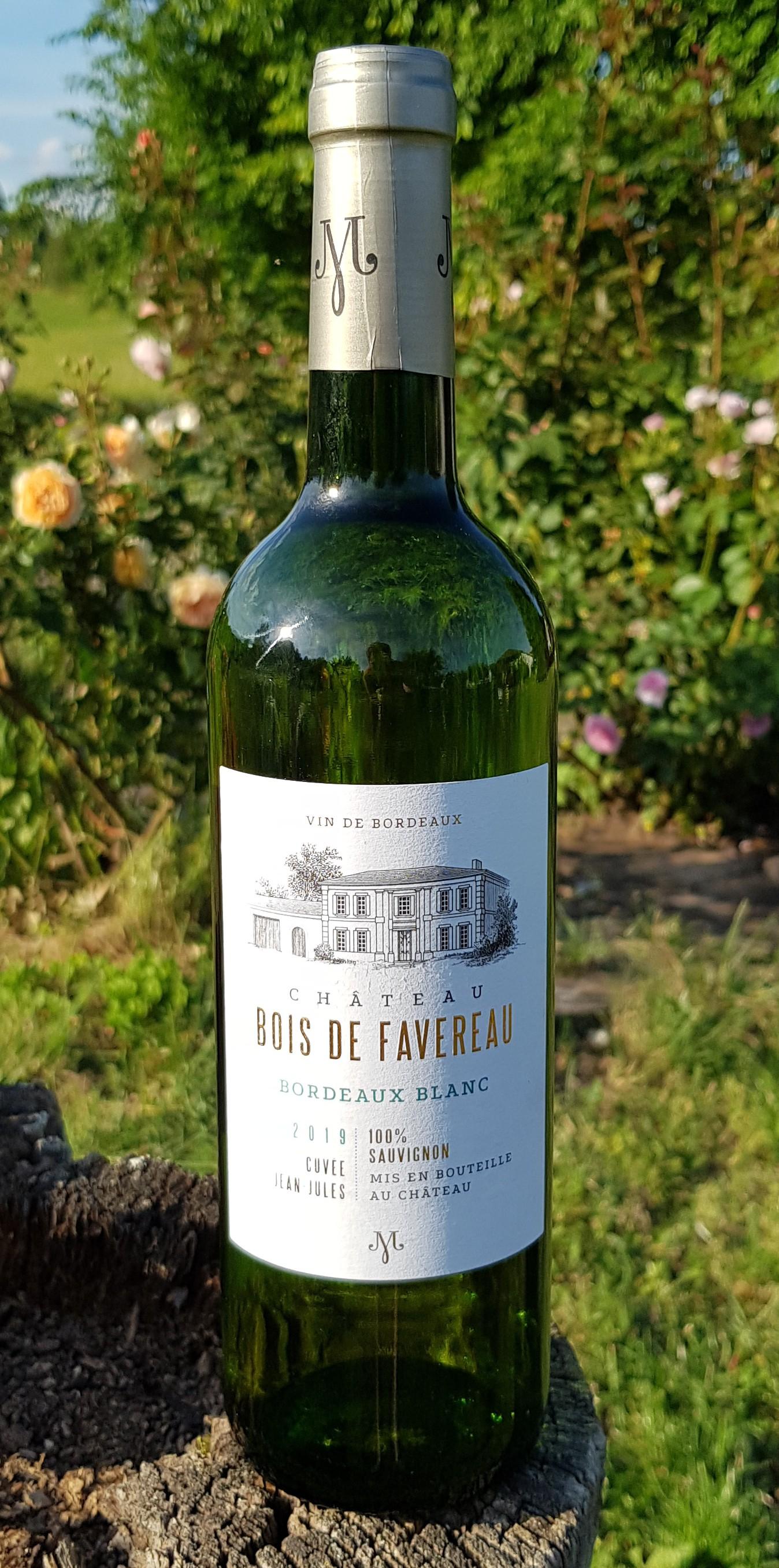 Chateau Bois de Favereau Bordeaux blanc