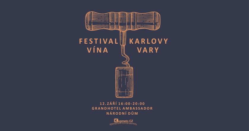 Festival vína Karlovy Vary 2019